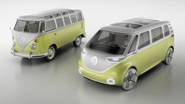 VW Microbus Generations