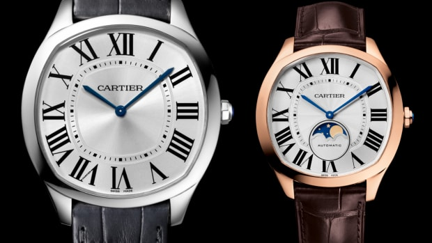 Drive de Cartier Moonphase and Ultra-thin