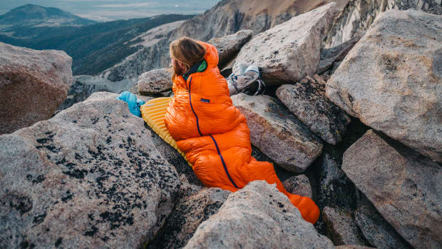 Patagonia Sleeping Bag Hero