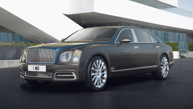 Bentley Mulsanne Hallmark