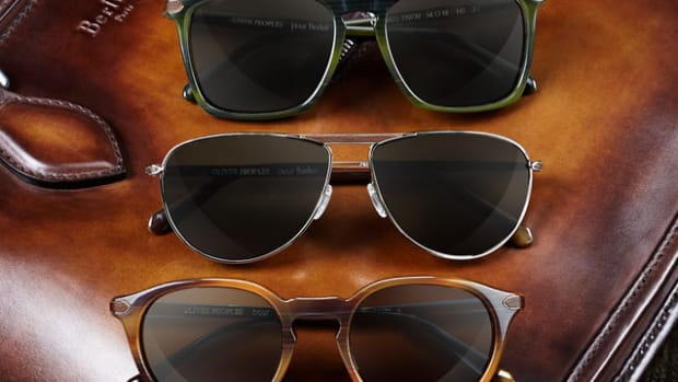 Oliver Peoples for Berluti