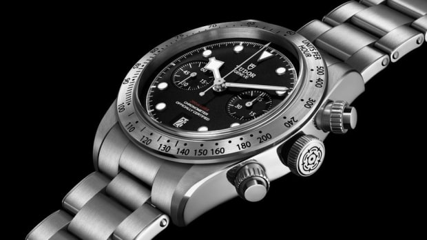Tudor Black Bay Chrono Hero