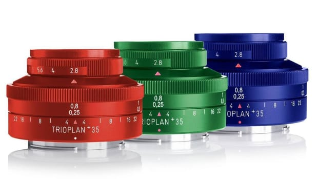 Meyter Optik Trioplan 35mm Colors