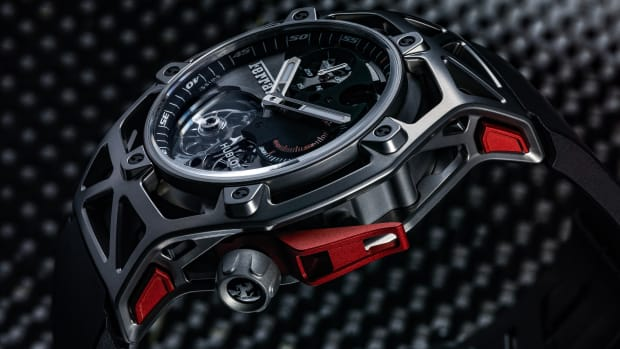 Hublot x Ferrari Techframe Tourbillon