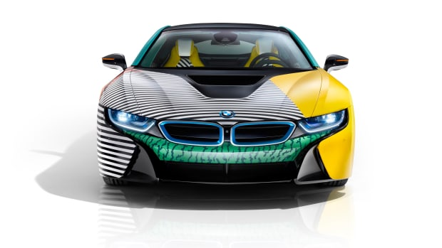 BMW i x Garage Italia Customs i8