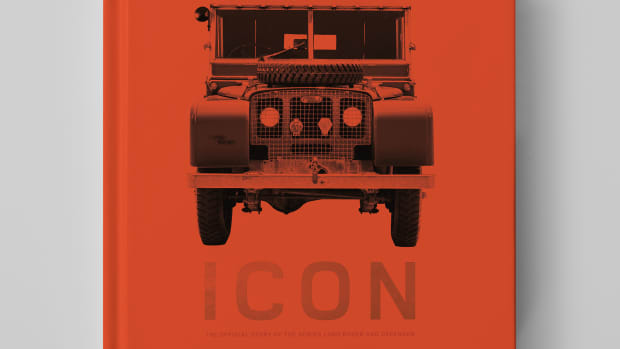 Icon The Official Story of the Series Land Rover and Defender