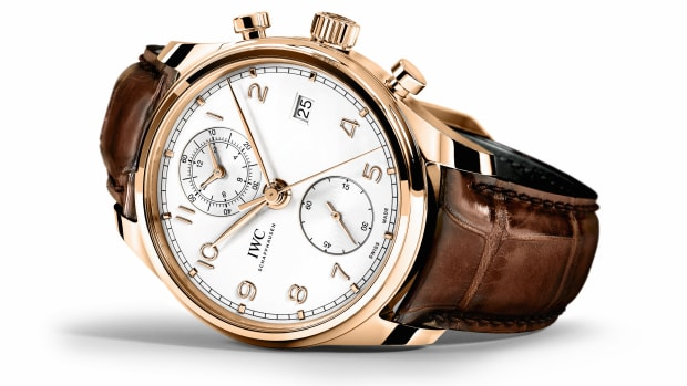 IWC Portugieser Chronograph Classic Gold