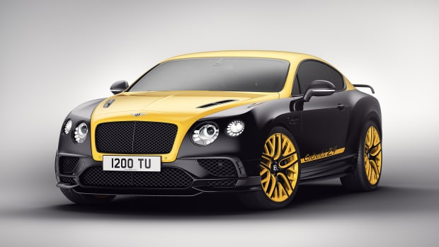 Bentley Continental 24 Yellow