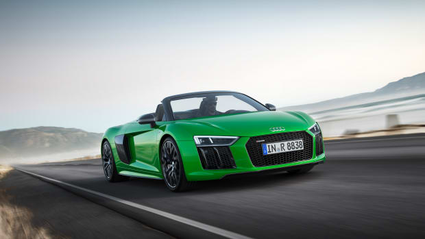 Audi R8 V10 Plus Spyder Open