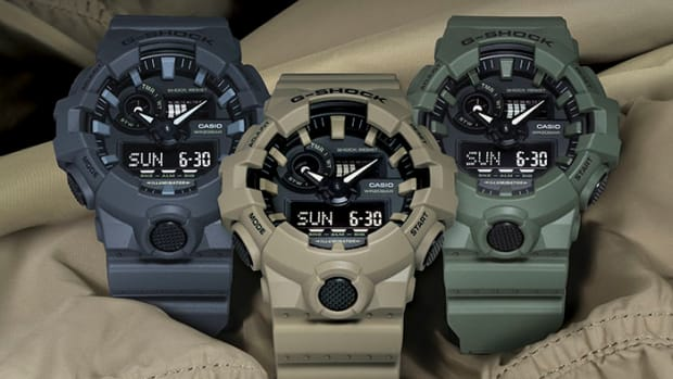 Gshock GA700 Utility Collection