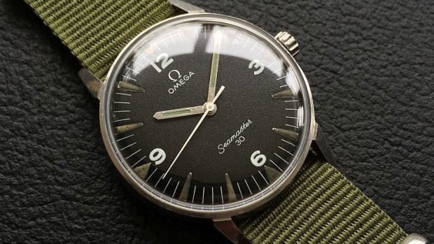 Omega Seamaster 30 Pakistan Air Force