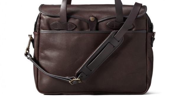 Filson Leather Briefcase