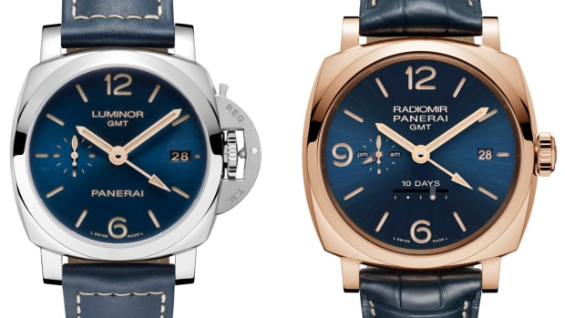 Panerai Blue Dial Special Editions