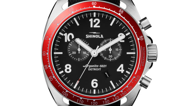 Shinola Rambler 600 Red