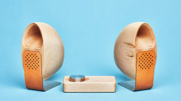 Grovemade - Speaker System - Blue  Background - Maple.jpg