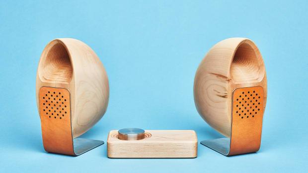 Grovemade - Speaker System - Blue  Background - Maple.jpg