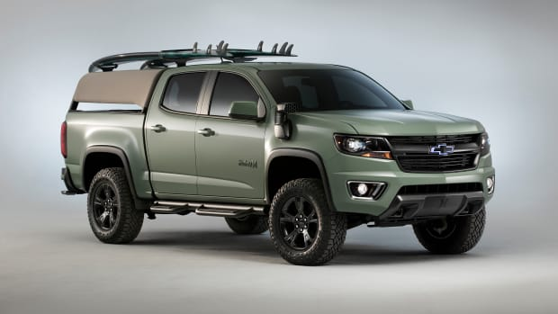 Chevy Hurley Custom Colorado Z71 Surf Truck