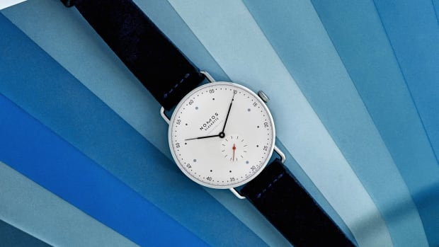 Hodinkee Nomos Metro Chronometer