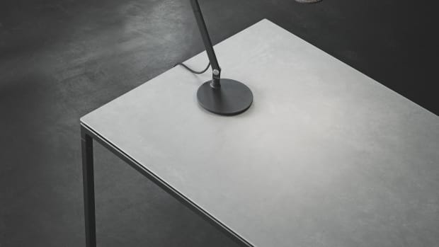 c4170521c3dc4 awesome vipp has got the perfect dinner table for the discerning minimalist  with vipp lamp