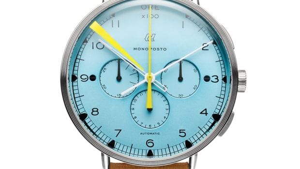 Autodromo Monoposto Azzurro Chronograph