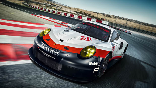Porsche 911 RSR Front Quarter