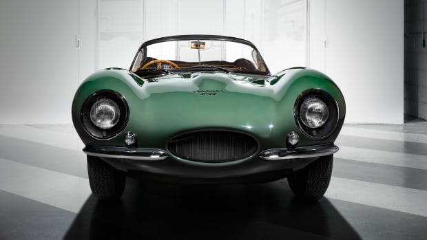 New Jaguar XKSS Front Large