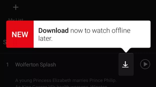 Netflix Offline Mode