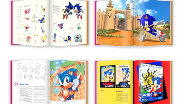 Sonic the Hedgehog Coffee table book