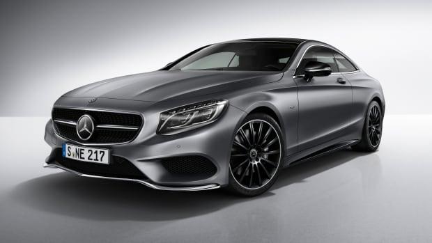 Mercedes S-Coupe Night Edition Profile
