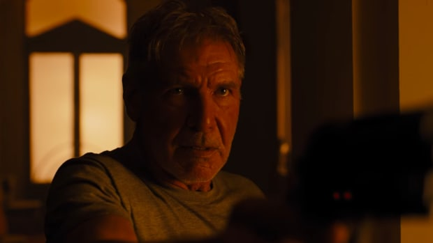 Deckard in Blade Runner 2049