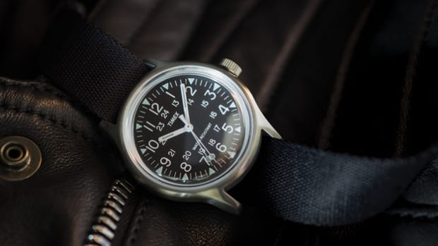 Timex Japan Stainless Steel Camper