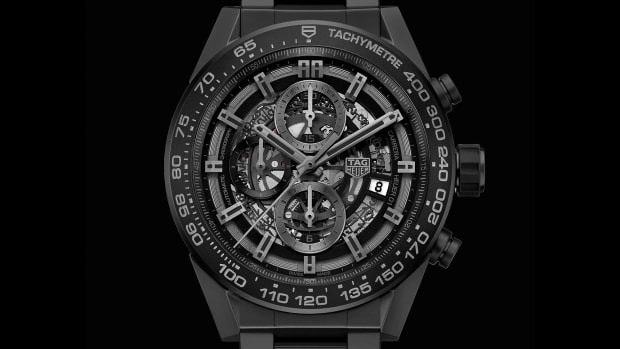 Tag Heuer Carrera 01 Full Black Ceramic