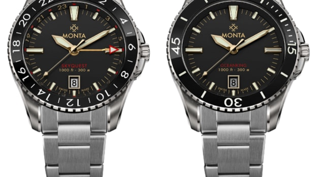 Monta Skyquest and Oceanking in Gilt