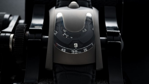 Urwerk x Laurent Ferrier Titanium Watch
