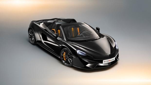 McLaren 570S Spider Design Edition