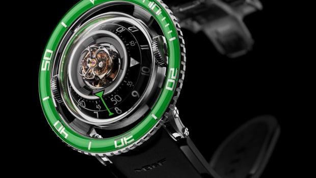 MB&F HM7 Ti Green