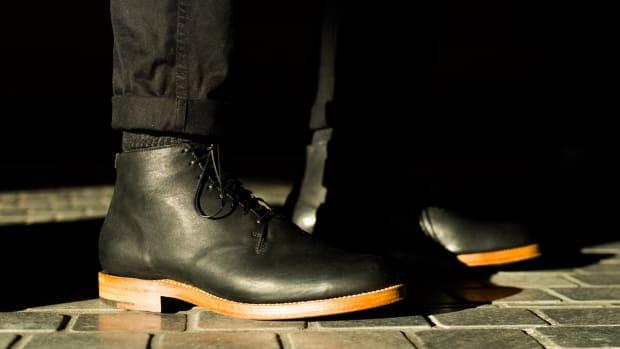 Viberg Wholecut Boot