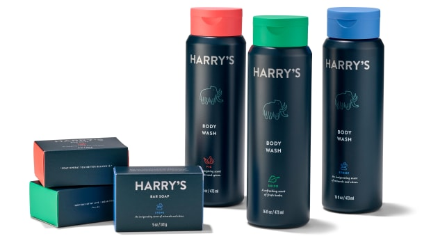 Harry's Body Care line