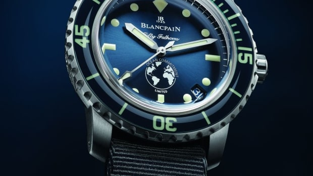 Blancpain Fifty Fathoms Ocean Commitment