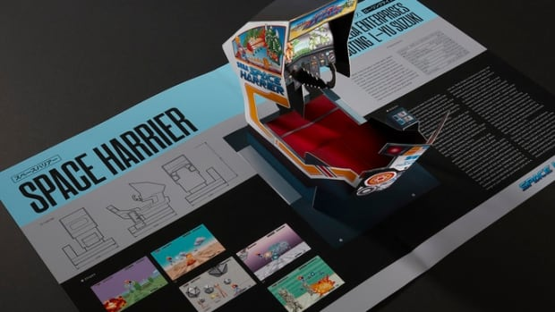 Read-Only Memory's Sega Arcade Pop Up Book