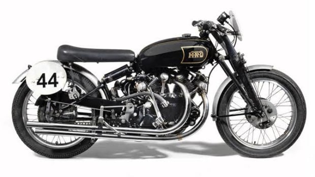 Second example of the Vincent Black Lightning