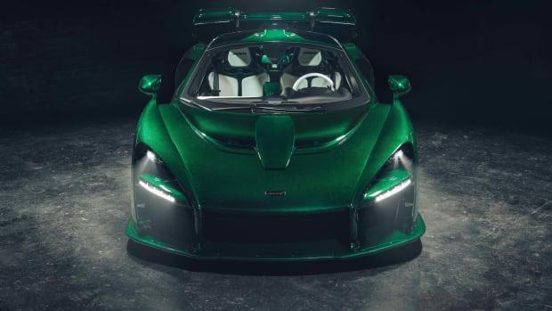 McLaren Senna Emerald Green