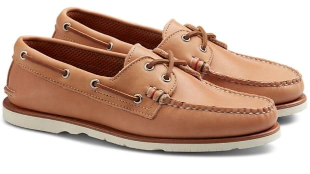 35e04170abb142 Sperry levels up its classic boat shoe with their new Handcrafted in Maine  collection