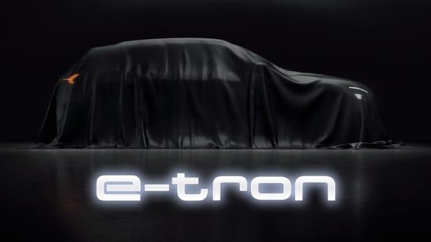 Audi e-tron teaser