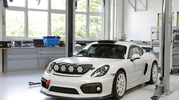 Porsche Cayman GT4 Clubsport Concept
