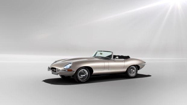 Jaguar Electric E-Type