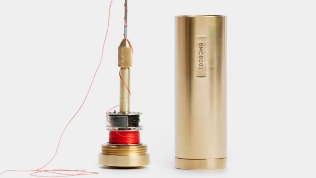 Best Made Brass Capsule Stitcher