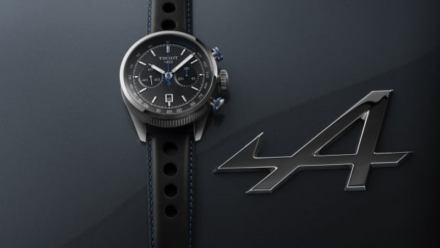 Tissot x Alpine On Board Chronograph
