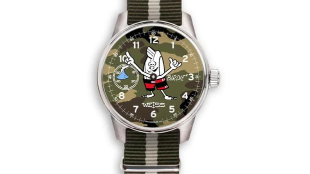 Birdwell x Weiss Birdie Surf Watch