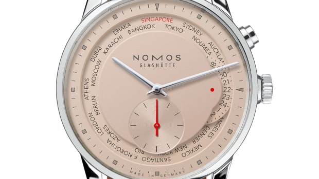 Nomos Zürich Weltzeit Singapore Edition World Time